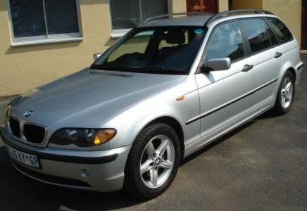 Savstarpējā auto noma Autolevi - BMW 320 2002