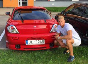 Raivis Raspopovs ar Hyundai