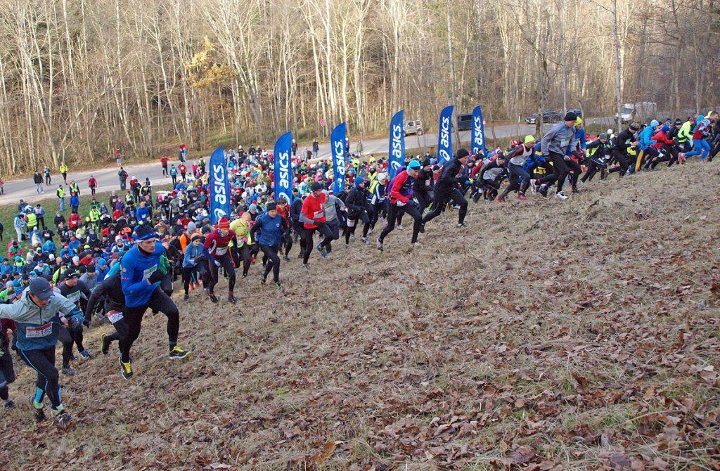 Skrien Siguldas kalnu maratonā kopā ar Autolevi