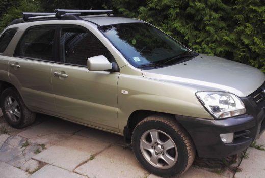 Autolevi savstarpējā auto noma Kia Sportage 2006